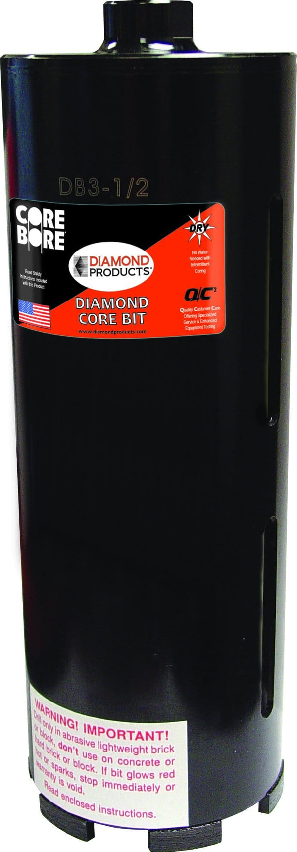 Dry Premium Black Diamond Core Bit