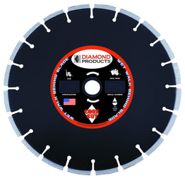 Premium Black Cured Concrete Wet Diamond Blade