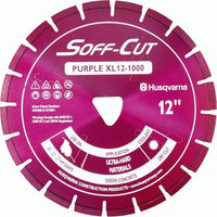 Soff Cut Excel 1000 Series Purple Husqvarna Diamond Blade