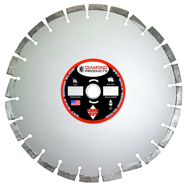 Super Premium Silver Cured Concrete Wet Diamond Blade