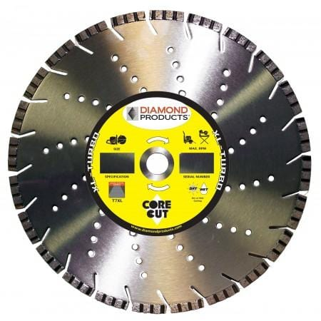 "XL Turbo 16"" Flush Diamond Blade for C16 Saw"