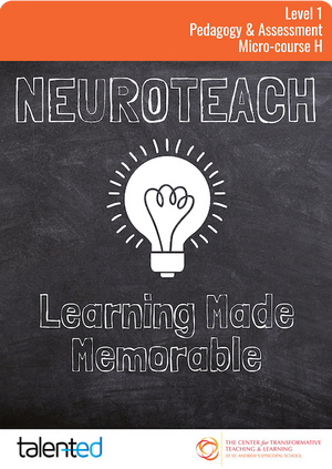 Neuroteach Level 1: Learning Made Memorable