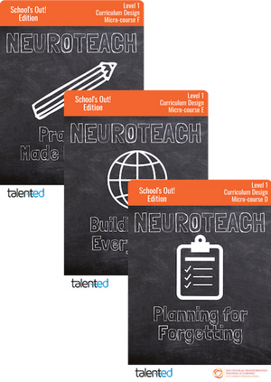 Neuroteach Global: Curriculum Development Track (School's Out!)