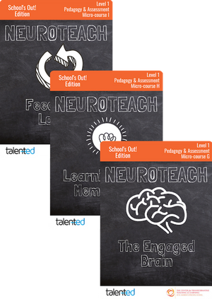 Neuroteach Global: Pedagogy & Assessment Track (School's Out!)