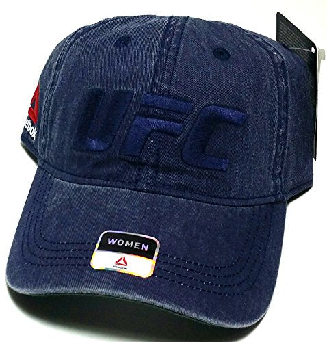 9282420cae3 UFC Reebok Ladies Relaxed Slouch Strapback Hat