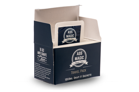 ASS MAGIC Chamois Cream Travel Pack