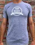 ass magic t shirt grey melange