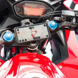 sp moto stem mount phone mounted