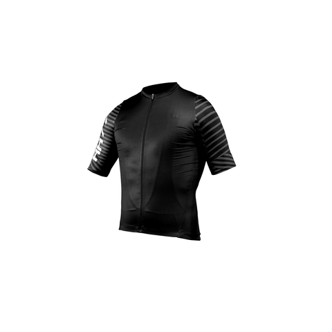 RH77 Black Stealth Superspeed Cycling Jersey