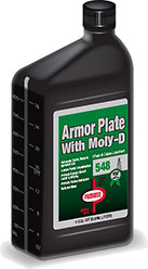 548 Armor Plate with Moly-D
