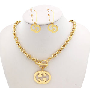 Gucci Necklace and Earring