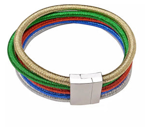 Colored Choker Necklace