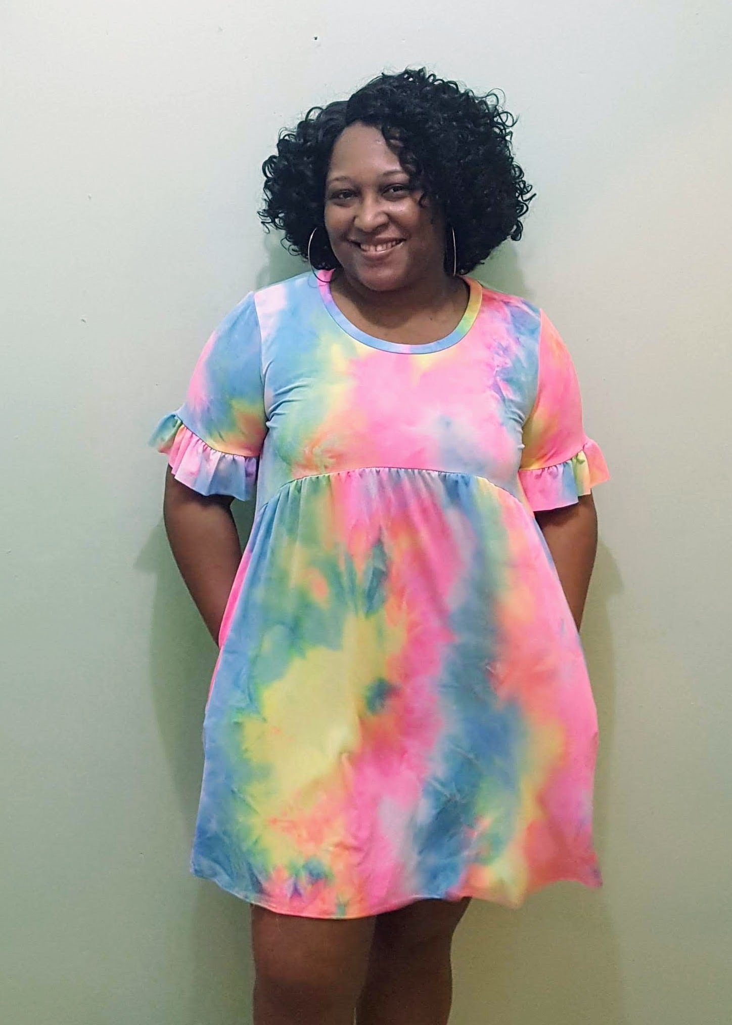 Tie Dye Empress Dress - Plus Size