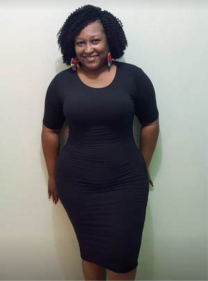 Treasure Me Dress - Black Plus Size