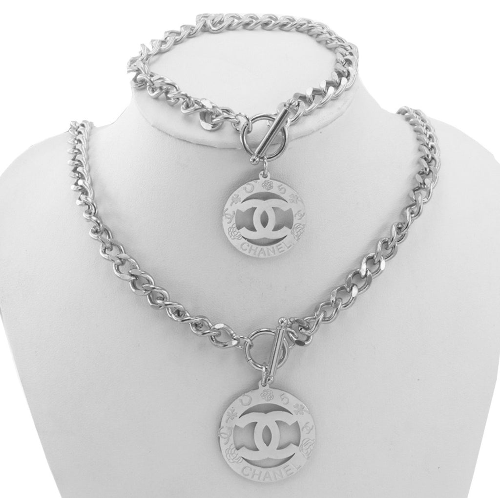 Chanel Necklace and Hand band