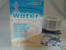 "2 VITALIZER MINERAL CUBES & FREE BOOK ""WATER THE ULTIMATE CURE"""