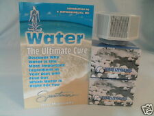 "3 VITALIZER MINERAL CUBES & FREE BOOK ""WATER THE ULTIMATE CURE"""