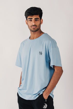 SUMMER T-SHIRT - BLUE
