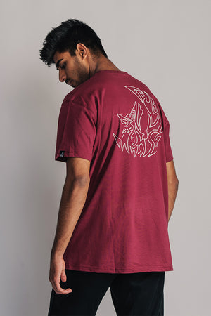 Essential T-Shirt - Maroon