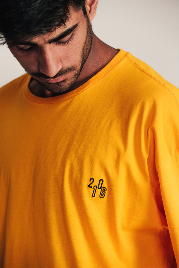 SUMMER T-SHIRT - YELLOW