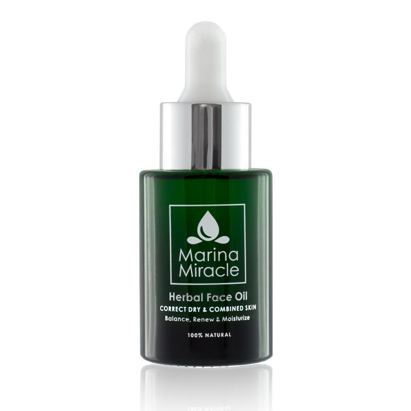 Gesichtsöl - Herbal Face Oil - marinamiracle.de