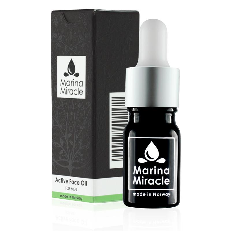 Active Face Oil für Männer - 5 ml Travel Size - marinamiracle.de
