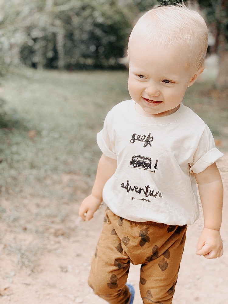 Seek Adventure Toddler Tees