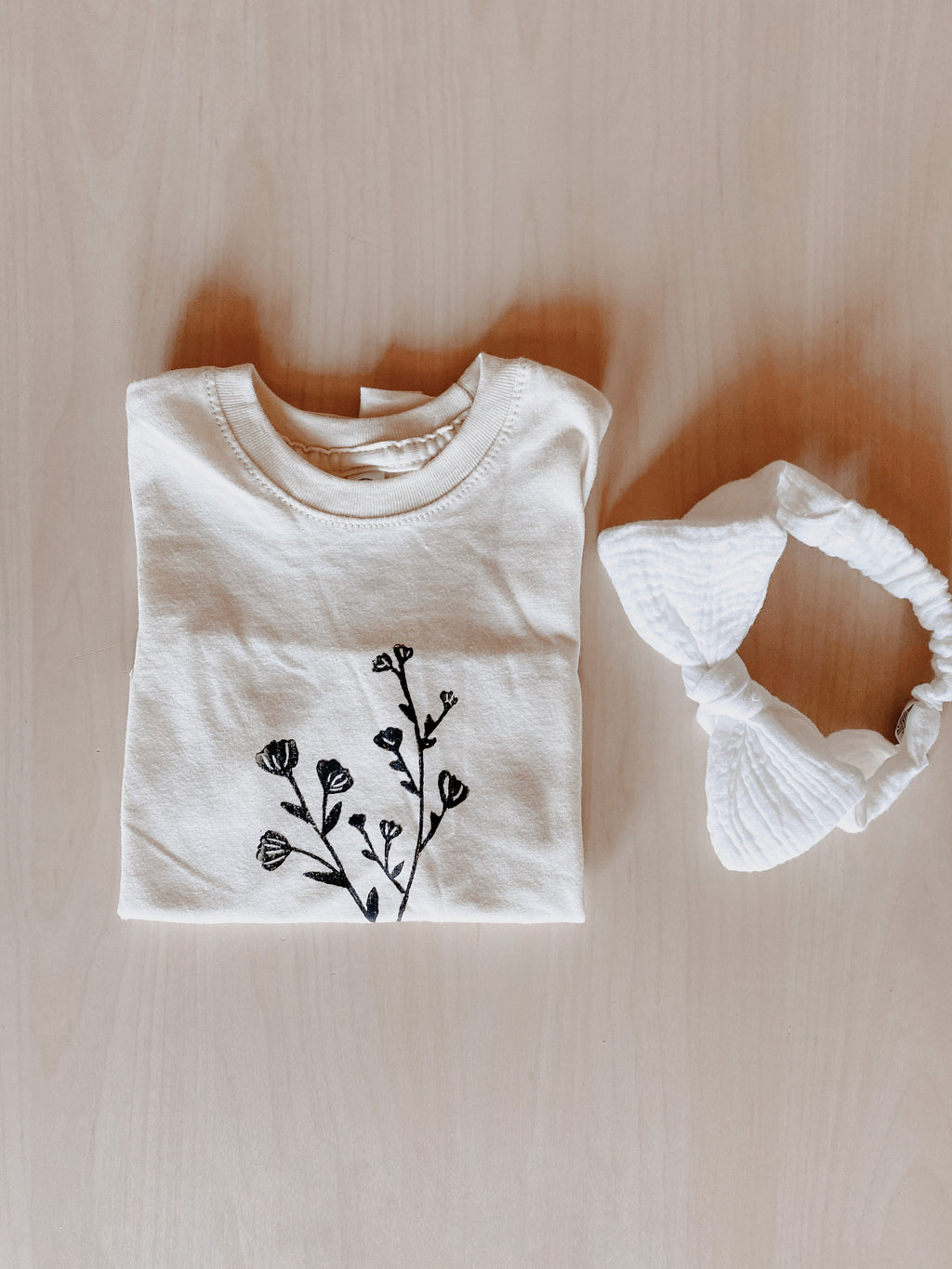 Floral Toddler Tees