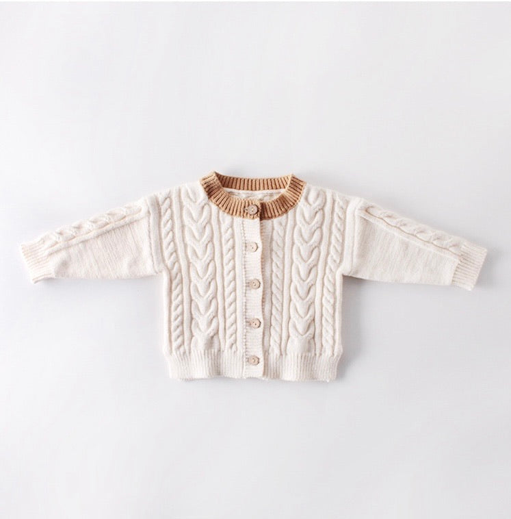 Gender Neutral Cable Knit Sweater