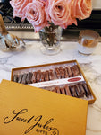 Gold Linen Box Assorted Caramels