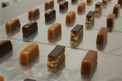 Caramel corporate gift favors from Sweet Jules, top MN candy, fresh is best