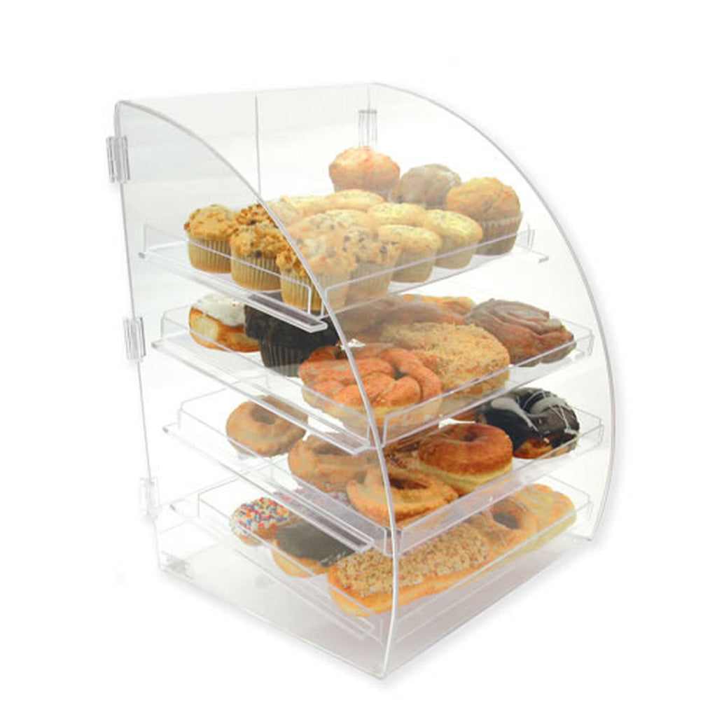 Gold Leaf 4 Level Euro Curved Front Bakery Case BDT4EURO
