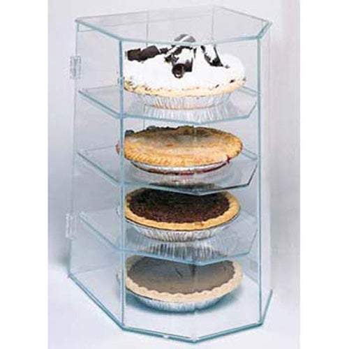 Gold Leaf Pie Display Case, Four Tier PCT4