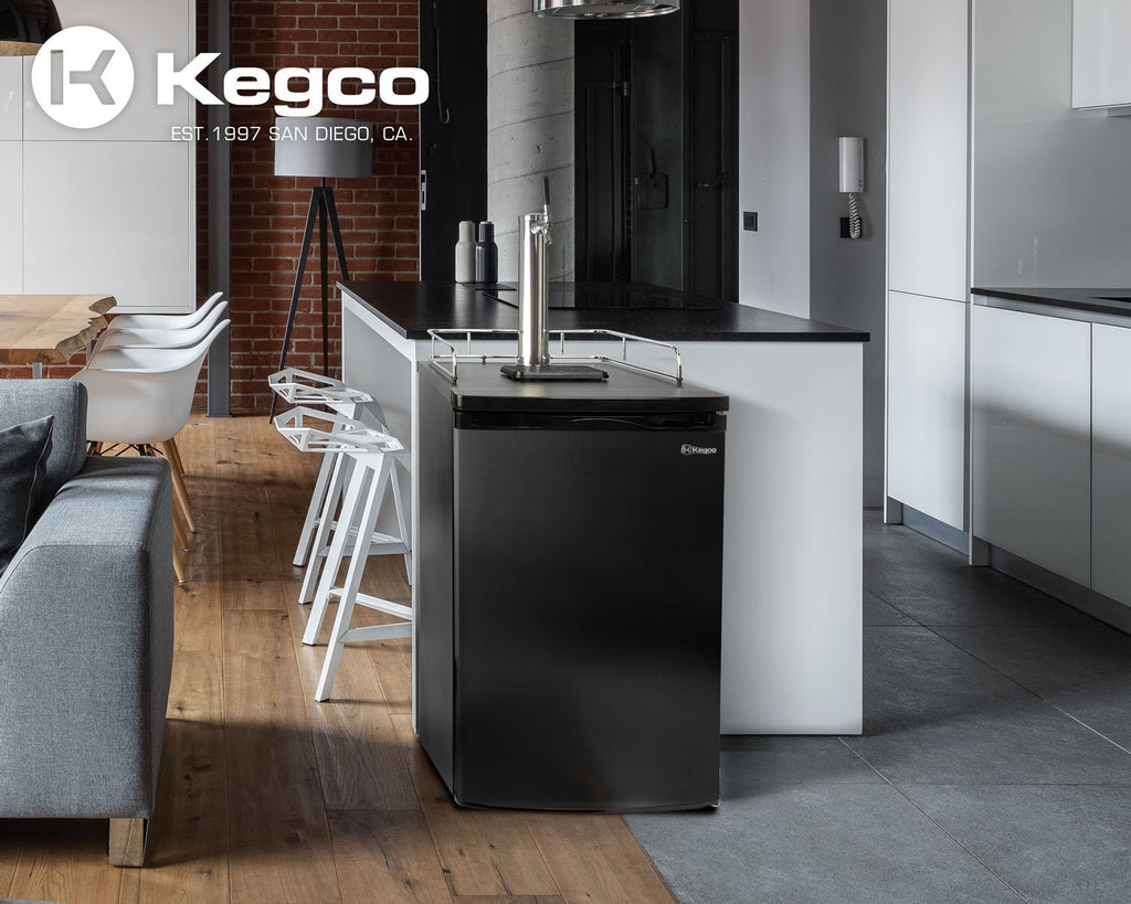 "KegcoKegco K199B-1NK 20"" Single Tap KegeratorSingle Tap Kegerator"