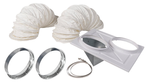Image of Kwikool  Kwikool KBIO1411 with CK-12SS; Stainless Flange Ceiling Kit [sku]