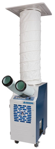 Image of Kwikool  Kwikool KPAC1411-2 with CK-12S Ceiling Kit [sku]