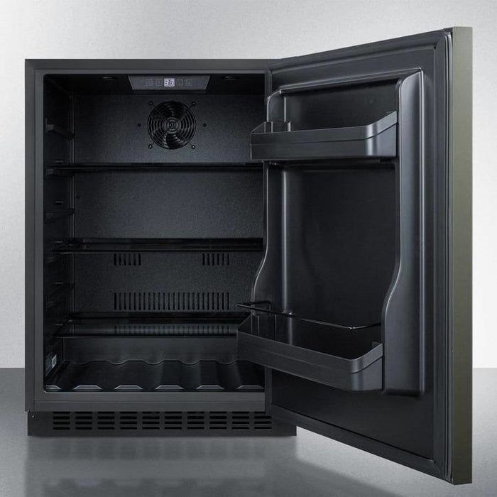 "Summit  Summit 24"" Wide Built-In All-Refrigerator, ADA Compliant,AL54KSHH [sku]"