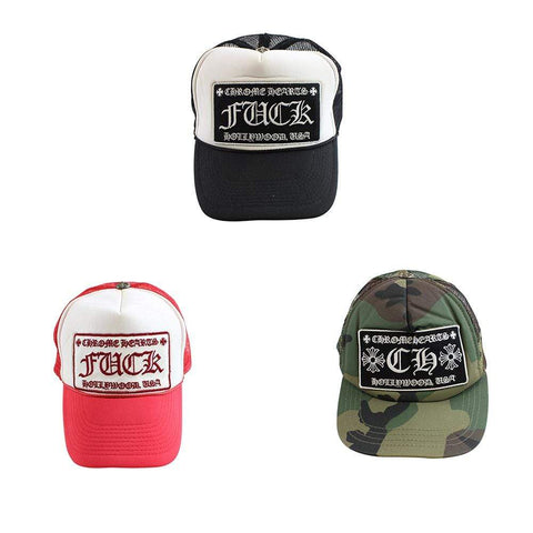 chrome hearts CH trucker red, Black & Green camo set - SaruGeneral
