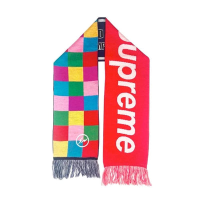 supreme x fragment uniform experiment multicolour scarf 2009 - SaruGeneral