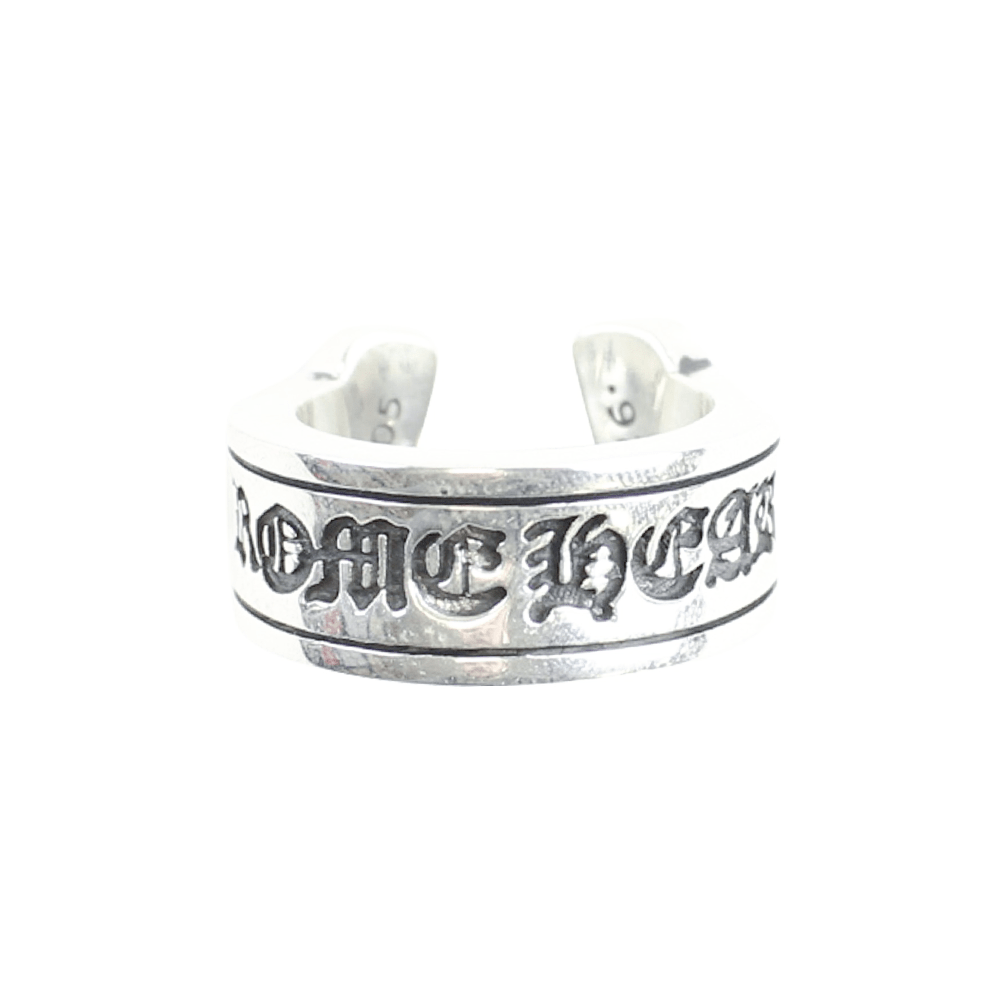 chrome hearts horseshoe scroll ring - SaruGeneral