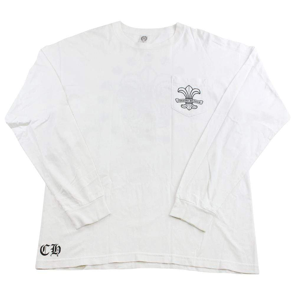 chrome hearts stars ls white - SaruGeneral
