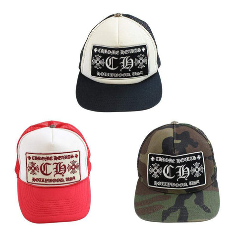 chrome hearts fuck trucker red, Black & Green camo set - SaruGeneral