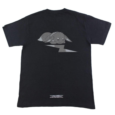 Fragment x Pokemon Eevee Bolts Logo Tee Black - SaruGeneral