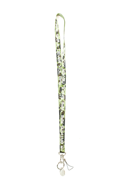 Bape 1st Green Camo A.S.N.K.A Lanyard - SaruGeneral