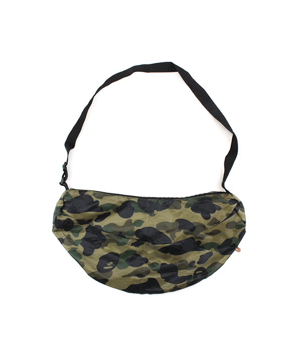 Bape 1st Green Camo banana hip Bag - SaruGeneral