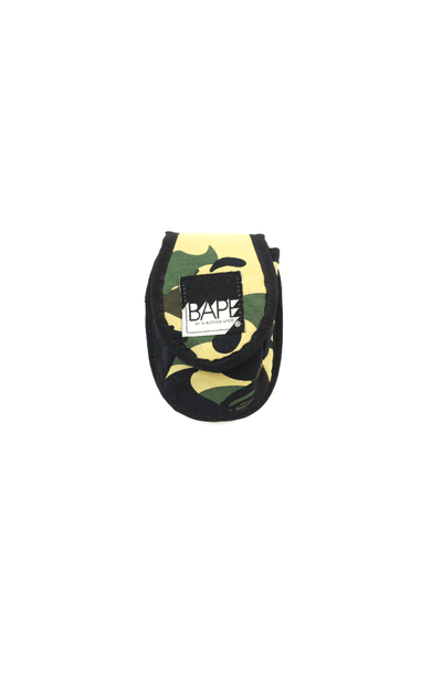 Bape 1st Yellow Camo Coin Pouch - SaruGeneral