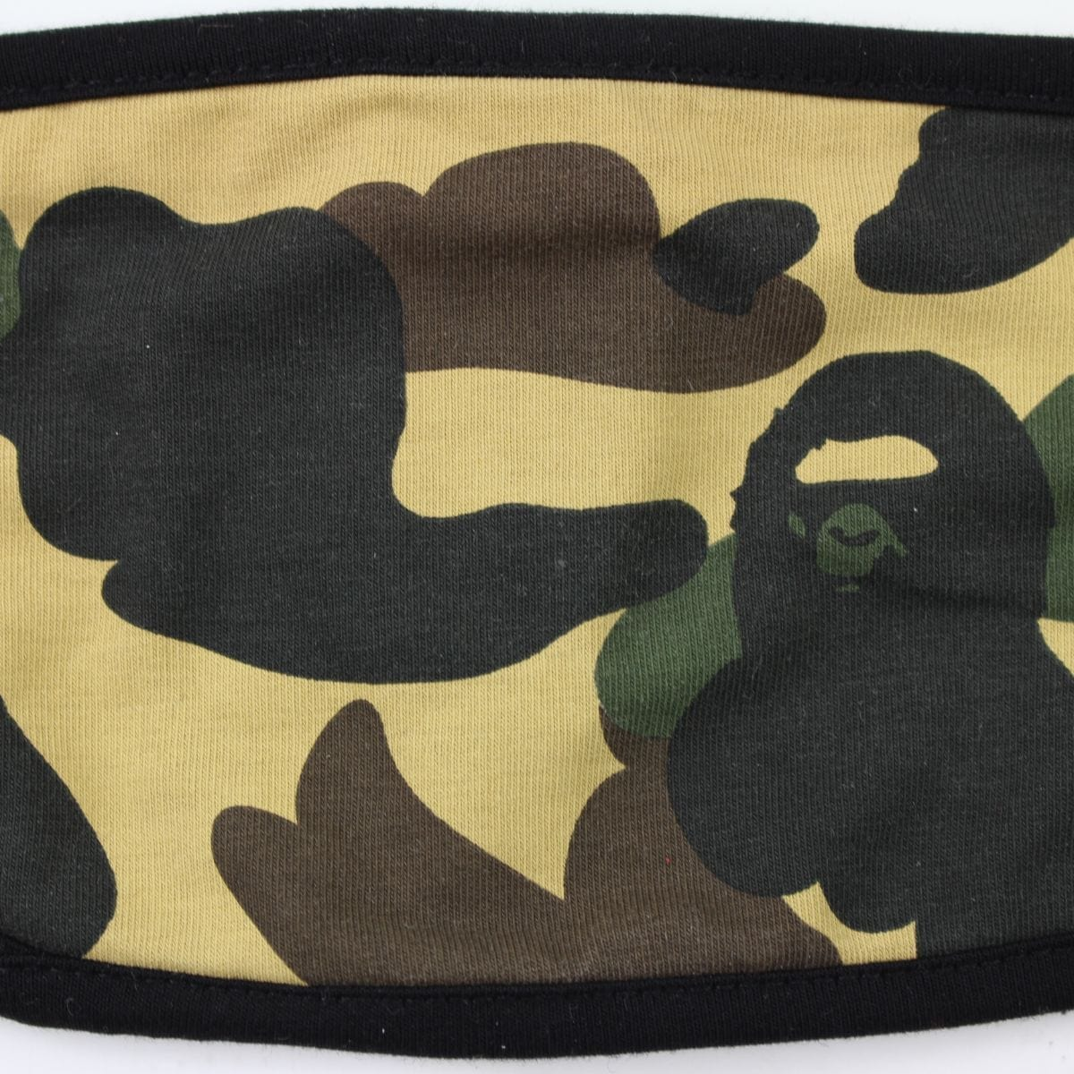 Bape 1st Yellow Camo Facemask - SaruGeneral