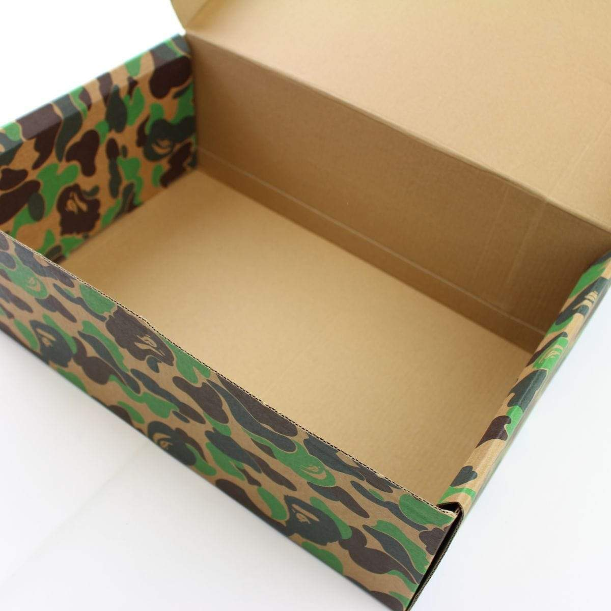 Bape ABC Green Camo Cardboard Box