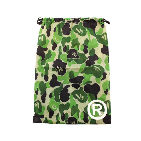 bape abc green camo drawstring bag - SaruGeneral