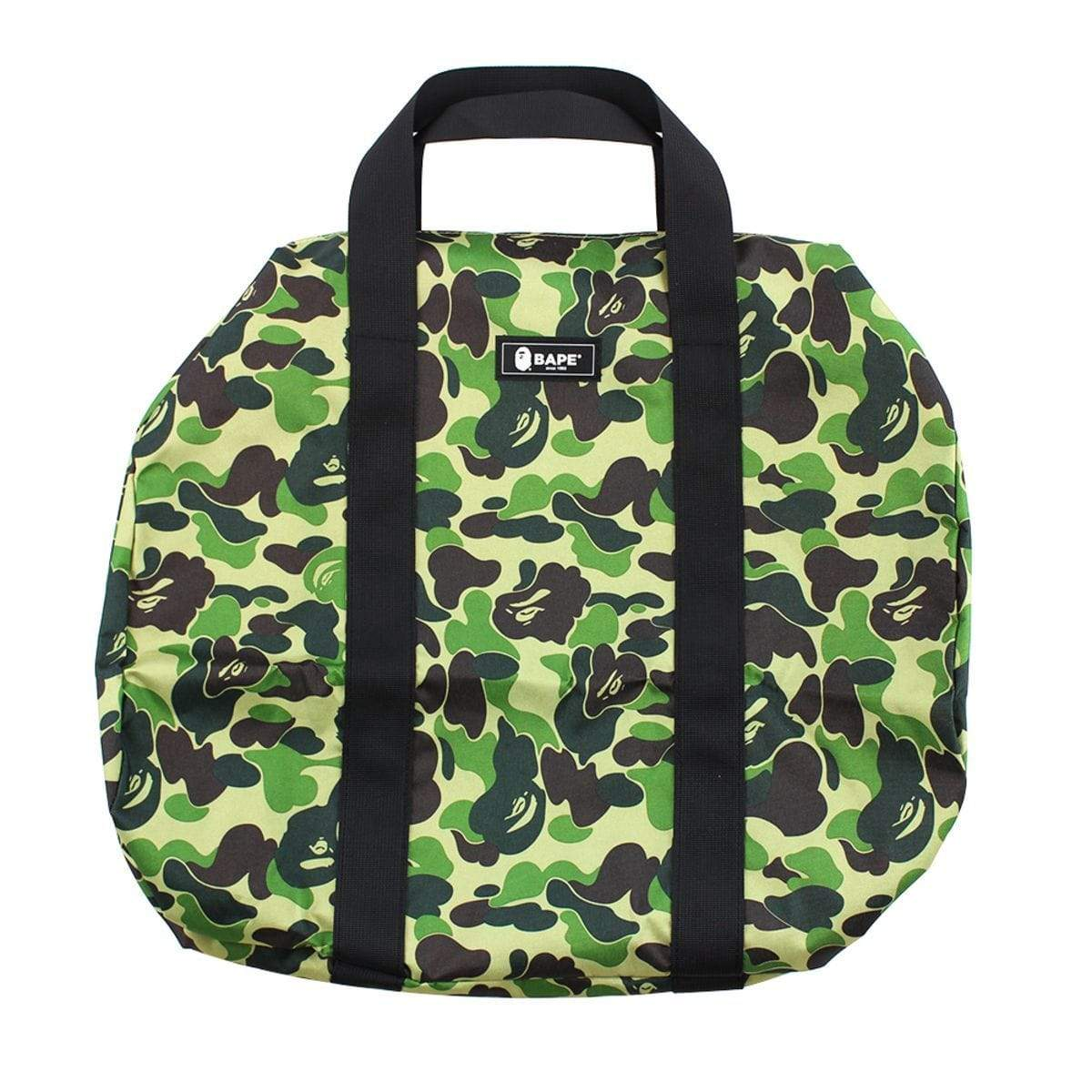 Bape ABC Green Camo Duffle Bag